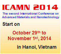 ICAMN2014 - The second International Conference on Advanced Materials and Nanotechnology